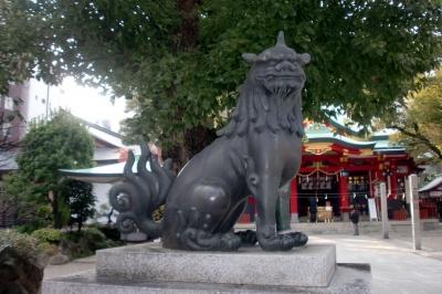 大阪御霊神社02狛aa
