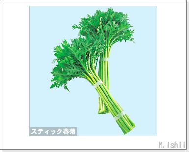 ペット栽培III(スティック春菊)01