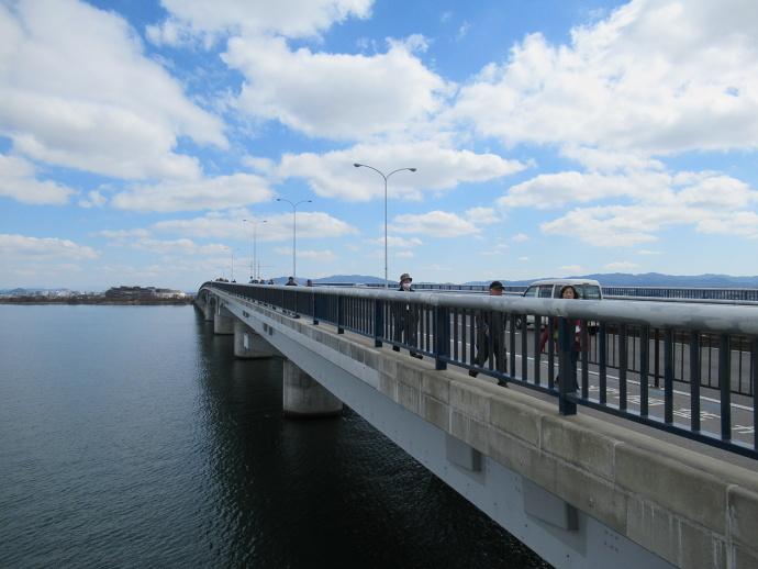 170228琵琶湖大橋 (3)