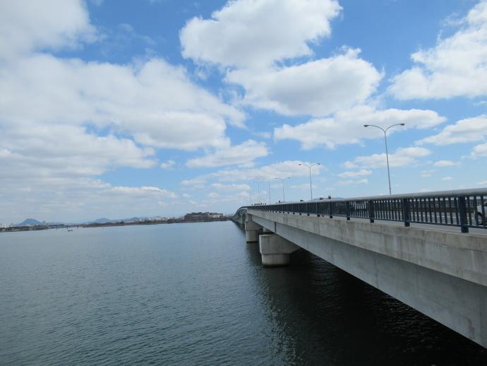 170228琵琶湖大橋 (4)