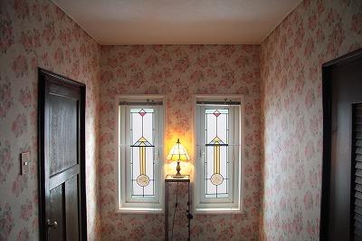 窓のステンド