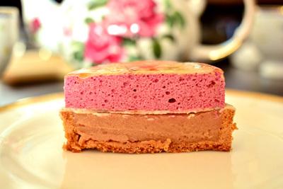 【ケーキ】ブロンディール「シブーストマロンカシス」 (1)