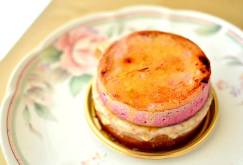 【ケーキ】ブロンディール「シブーストマロンカシス」 (2)