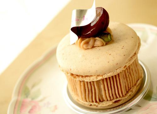 【ケーキ】ラ・ローズ・ジャポネ「マカロンドォートンヌ」 (2)