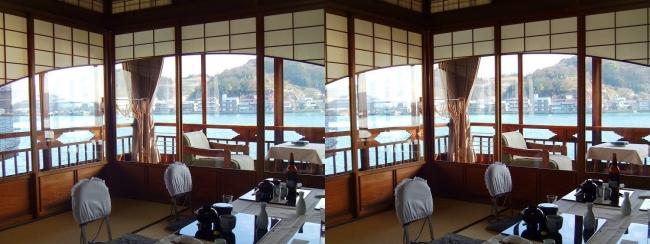 料亭旅館 魚信 須磨の間②(交差法)