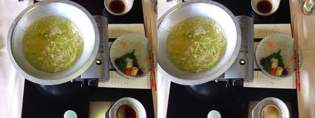 料亭旅館 魚信 オコゼしゃぶしゃぶ(平行法)