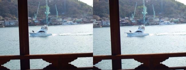 料亭旅館 魚信 須磨の間からの尾道水道④(平行法)