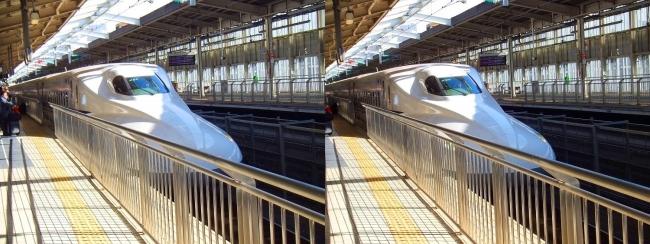 新大阪発 のぞみ(交差法)