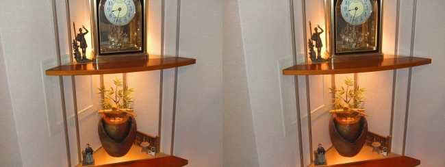 時計・和噴水(交差法)