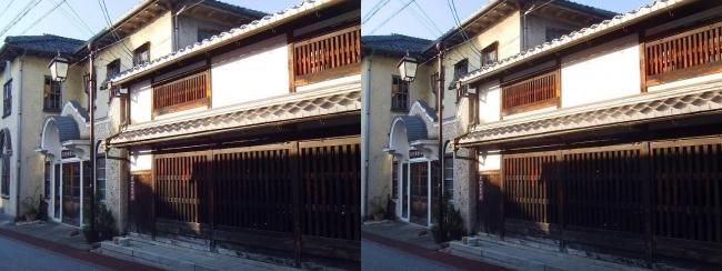 旧八幡郵便局舎②(交差法)