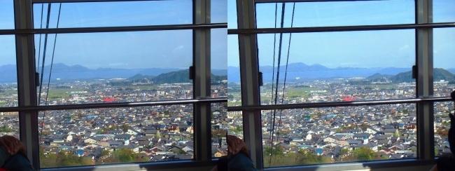 八幡山ロープウェー③(平行法)