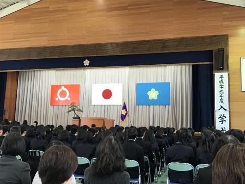 【晴れの高等学校入学式!】・4
