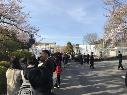 【晴れの高等学校入学式!】・8