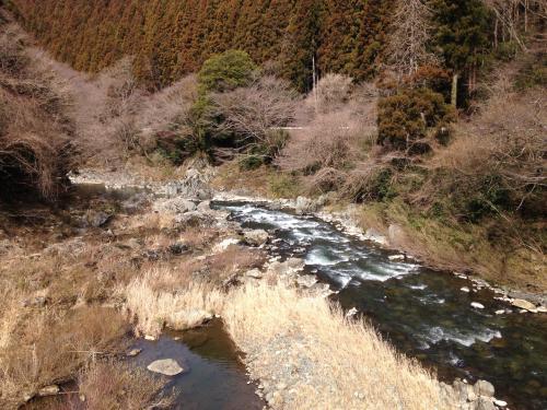 【春間近の龍神峡】・8