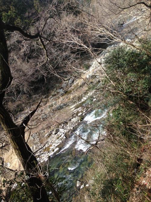【春間近の龍神峡】・15