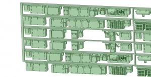 6000系床下機器 6013F 8連【武蔵模型工房 Nゲージ 鉄道模型】-2