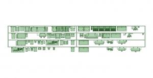2300系床下機器 4連 2319F【武蔵模型工房 Nゲージ 鉄道模型】