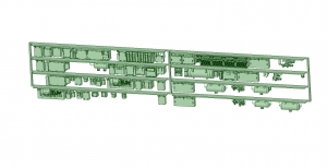 2300系床下機器 4連 2319F【武蔵模型工房 Nゲージ 鉄道模型】-2
