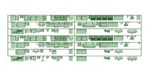 2300系床下機器 7連 2315F【武蔵模型工房 Nゲージ 鉄道模型】