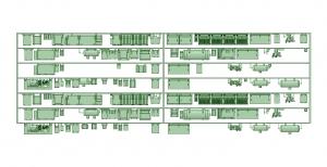 2300系床下機器 7連 2325F【武蔵模型工房 Nゲージ 鉄道模型】