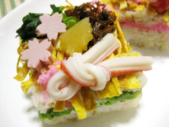 ちらし寿司2017-01
