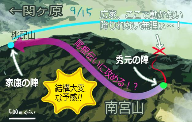 南宮山→桃配山