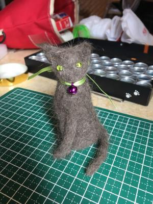 猫毛フェルト人形中級編☆