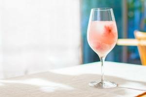 桜のワインクーラー2
