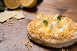 ホワイトチョコレートレモンパイピザ