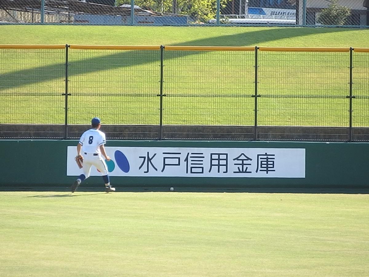 32_9回裏、土浦湖北は7番関本くんのタイムリー3ベースでついに1点差!!②