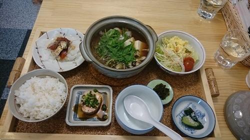 札幌市 定食むぎや 「あんこう鍋」