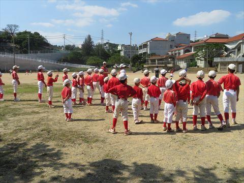 4月30日 練習試合 牧港小学校 (1)