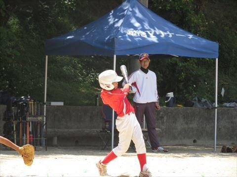 4月30日 練習試合 牧港小学校 (2)