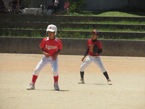 4月30日 練習試合 牧港小学校 (4)