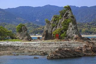 弁天島と那智ノ滝1