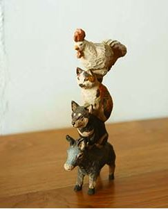 はしもとみお作品展 机の上の犬と猫vol 2