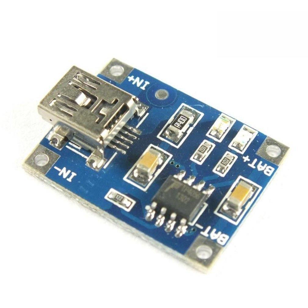 買ってしまった(HiLetgo 10PCS TP4056ミニUSB 1Aリチウム バッテリチャー ジャーモジュール 充電ボード 4.5V-5.5V [並行輸入品])