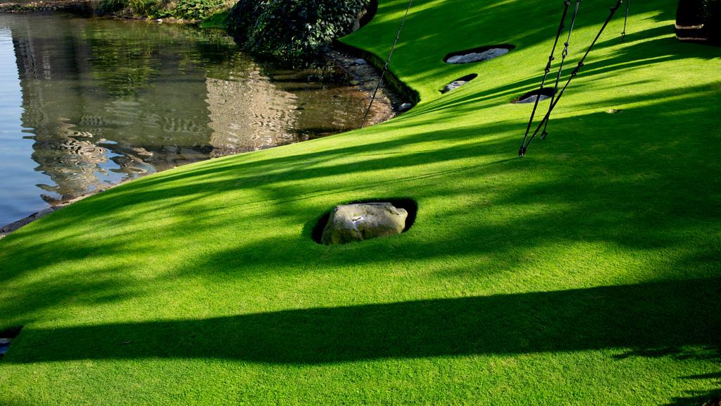 庭園(シンデレラ城)