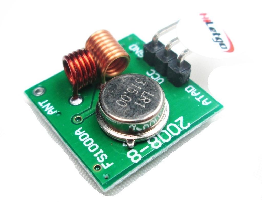 315MHz 送信モジュール 消費電流 調査(HiLetgo 315Mhz 無線受信モジュール 警報発射器 超再生モジュール Arduinoと互換 [並行輸入品])
