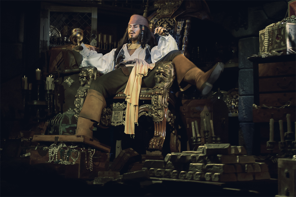 カリブの海賊 キャプテン・ジャック・スパロウ2(アトラクション)(アドベンチャーランド)(東京ディズニーランド)