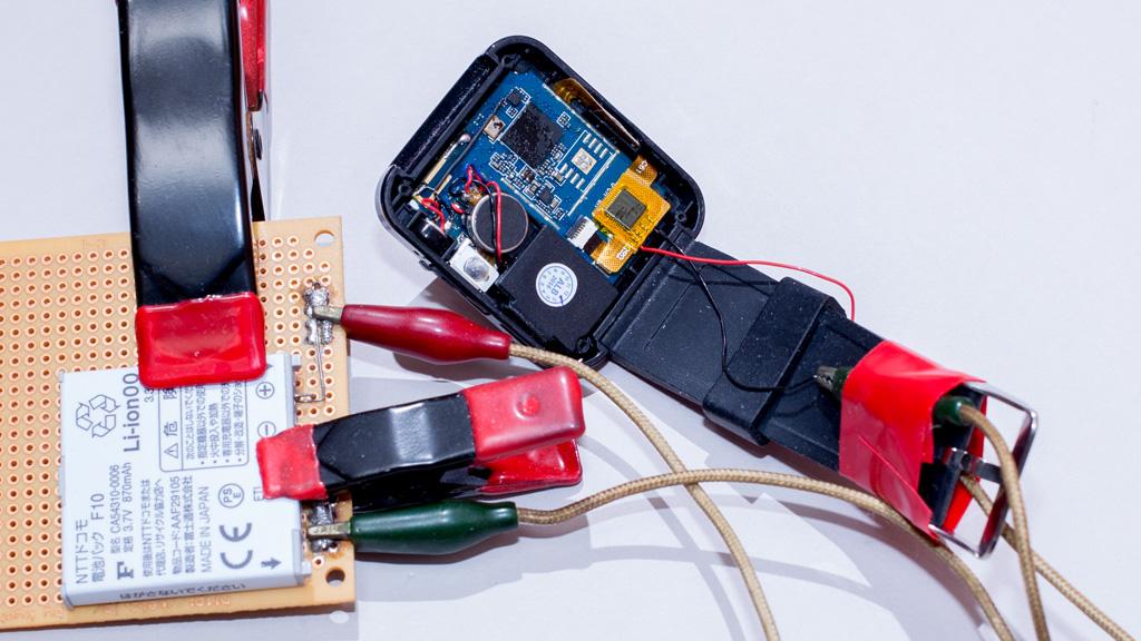 スマートウォッチの電池対策