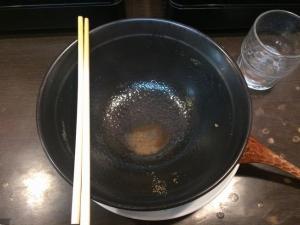 413日の出ラーメン*お汁まで間食(>_