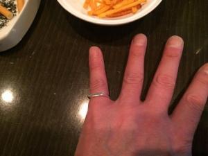 422ももさんから頂いた素敵な指輪