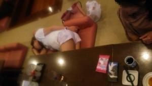 4274272次会竜泉寺の湯の宴会で寝てしまいました(-_-;)あかねです(-_-;)