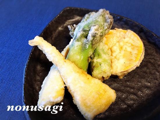 タランボ&筍の天ぷら