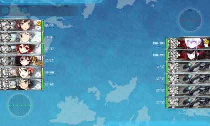 艦これ 2017年春イベント E-2 前半 Boss