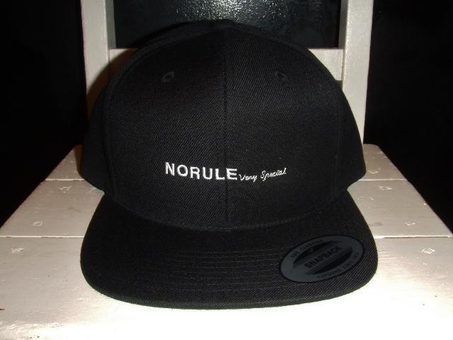 NORULE BLACK SNAPBACK1