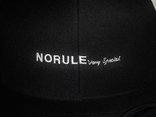 NORULE BLACK SNAPBACK2