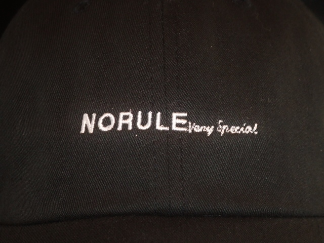 NORULE low cap black2