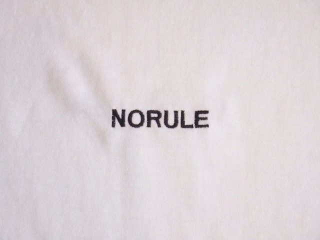 NORULE VerySpecial SS Tee whte4